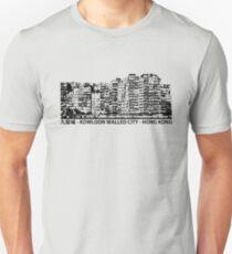 Kowloon Walled City Hong Kong Architecture T-shirt T-Shirt