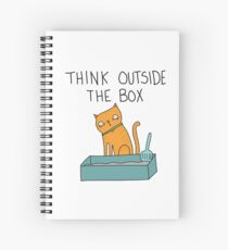 Creative Cat Spiral Notebook