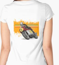 cafe racer - agusta 500/4 Women's Fitted Scoop T-Shirt