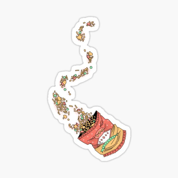 crunch crunch crunch Sticker