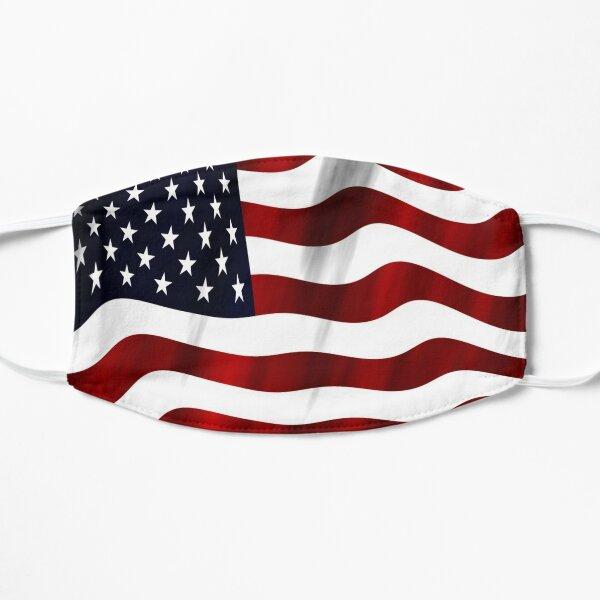 Bandera de los Juegos Olímpicos de Verano de los Estados Unidos de América-Tokio 2021 Mascarilla plana