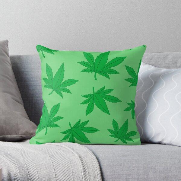 Patrón de marihuana Cojín