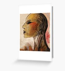 The Beauty of Anatomy Greeting Card