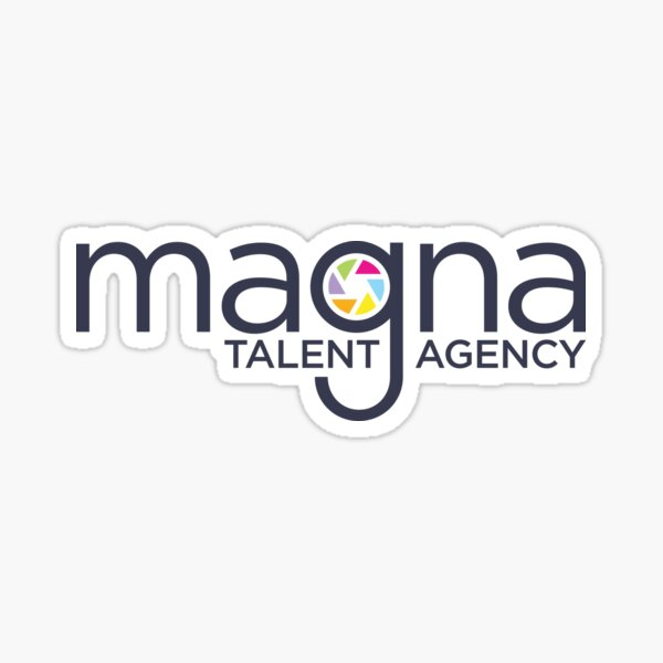 MAGNA Talent Non-Clothing Items Sticker