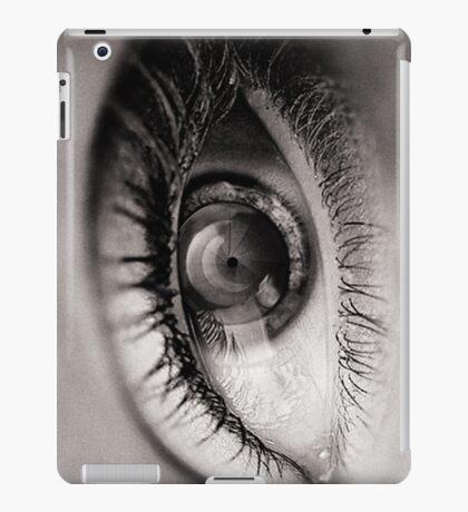 the eye as a lens iPad Case/Skin