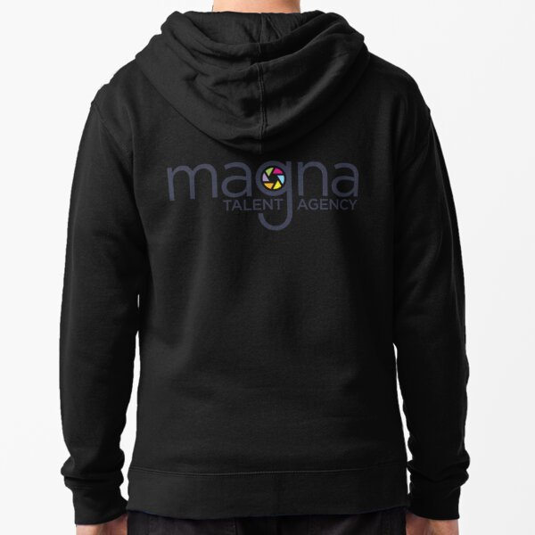 MAGNA Talent (Front Logo) Zipped Hoodie