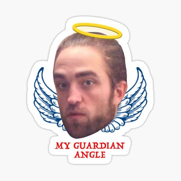 Robert Pattinson es mi ángel de la guarda Pegatina