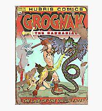 Grognak (Issue 14) Photographic Print