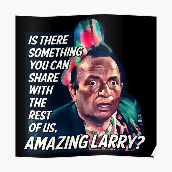Amazing Larry - Pee Wee's Big Adventure  Poster