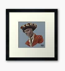 Sexy King of the Zombies Framed Print