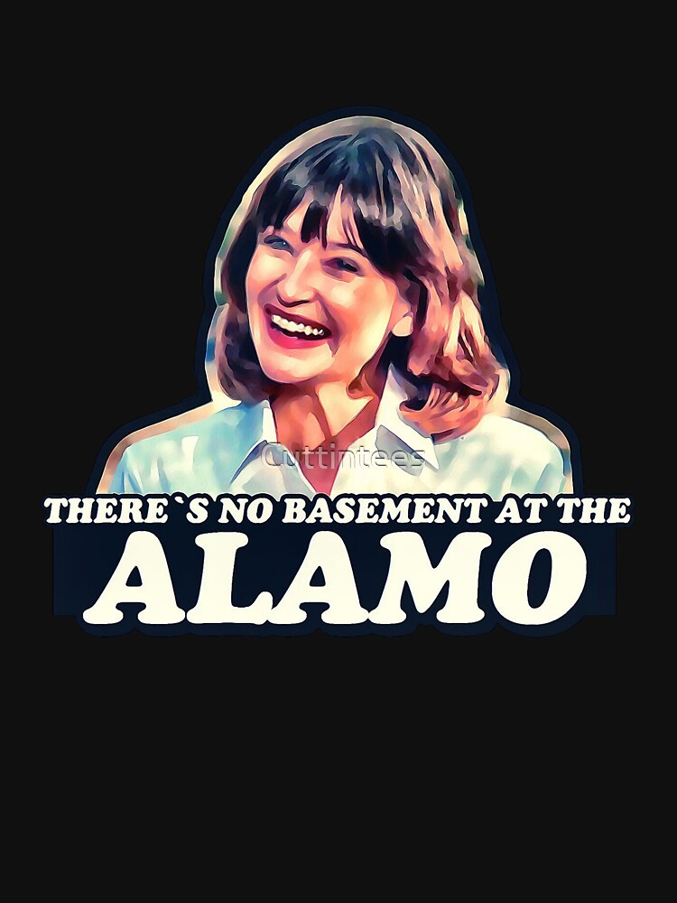 Jan Hooks - There's no basement at the Alamo - Pee Wee's Big Adventure  by Cuttintees