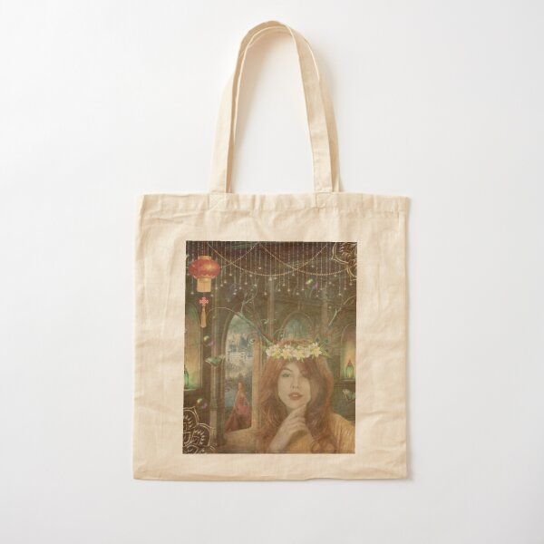 Elven Palace Cotton Tote Bag
