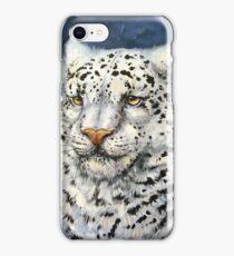 Snow Leopard iPhone Case/Skin