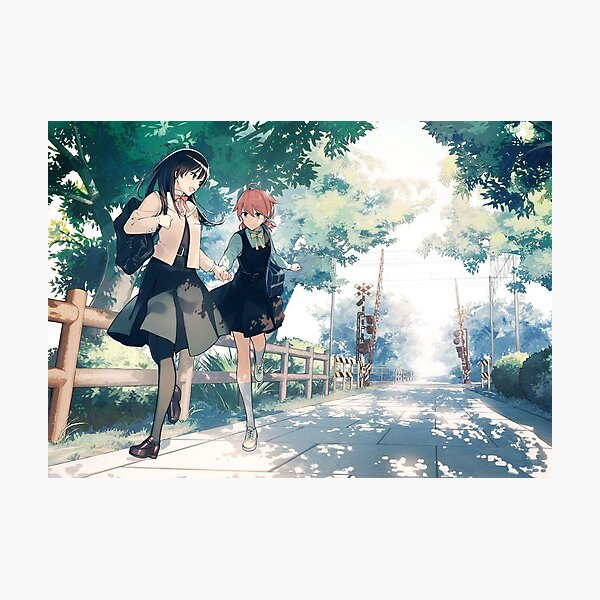 Bloom Into You - Poster Photographic Print