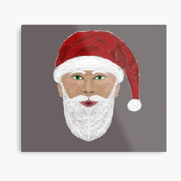 Santa Claus version 2 Metal Print