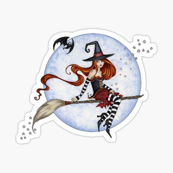 Moonlight Ride Sticker
