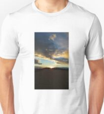 Sunset Clouds Over Dyke 8 T-Shirt