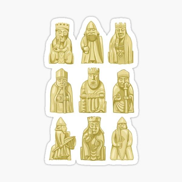Lewis Chessmen Sticker