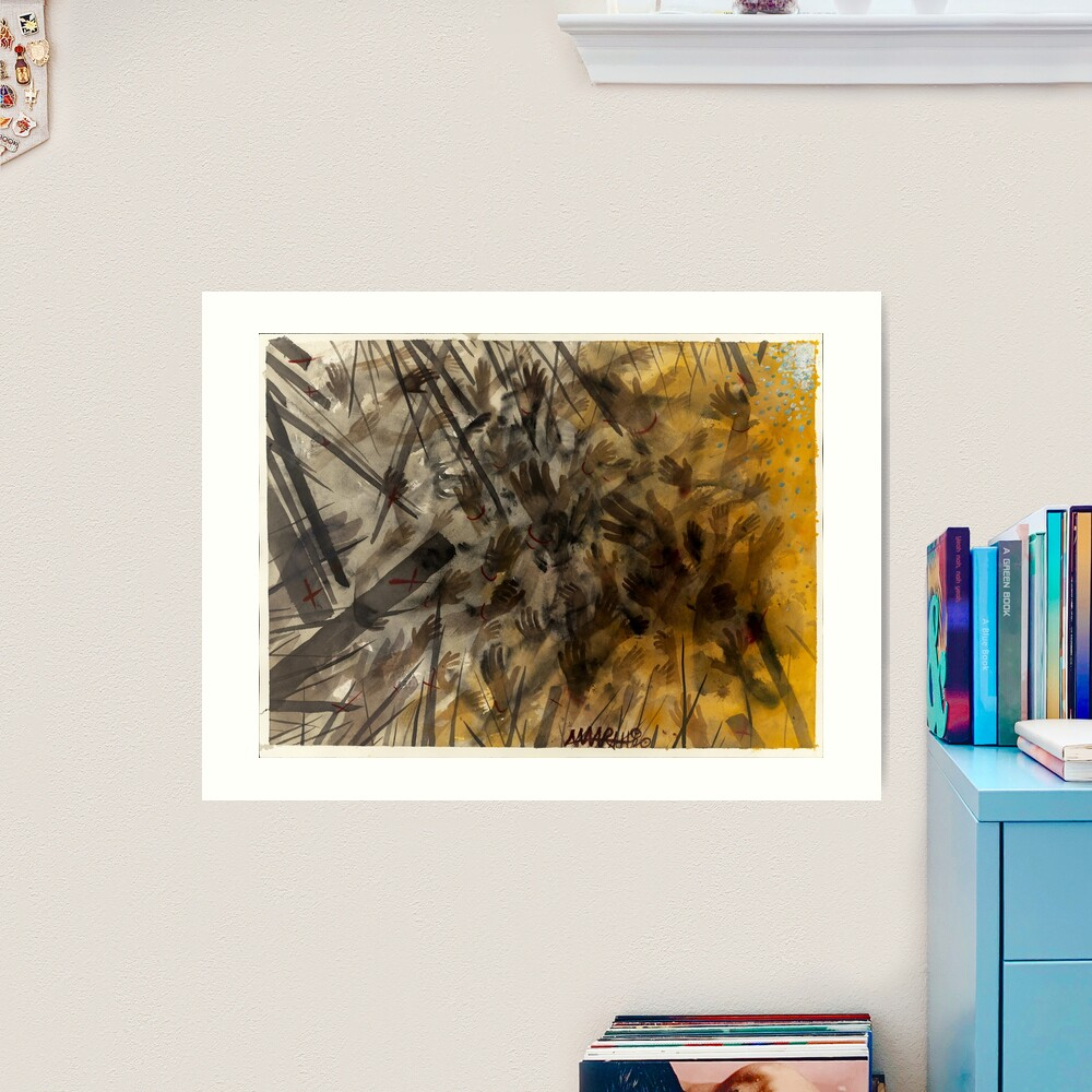 Eight: Johannesburg Art Print