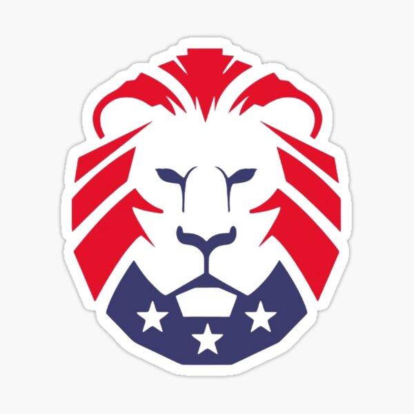 Patriot Party Lion - Bring the lion out! Sticker
