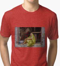 Sari Daydreams Tri-blend T-Shirt