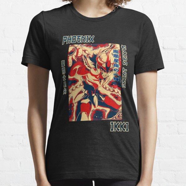 couleur ikki phoenix saint seiya anime andromeda art pour les fans T-shirt essentiel