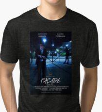 Façade Poster Tri-blend T-Shirt