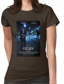 Façade Poster Womens Fitted T-Shirt
