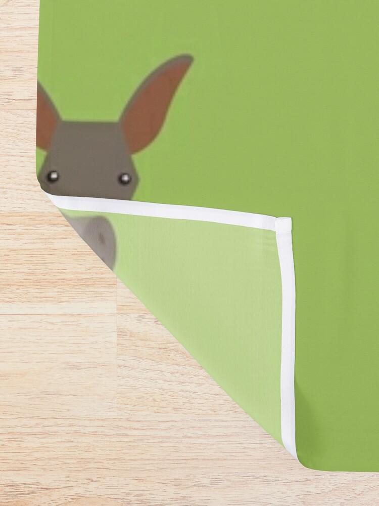 Alternate view of Aardvark Shower Curtain