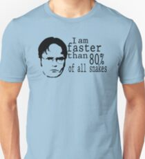 I Am Faster Than 80% Of All Snakes T-Shirt