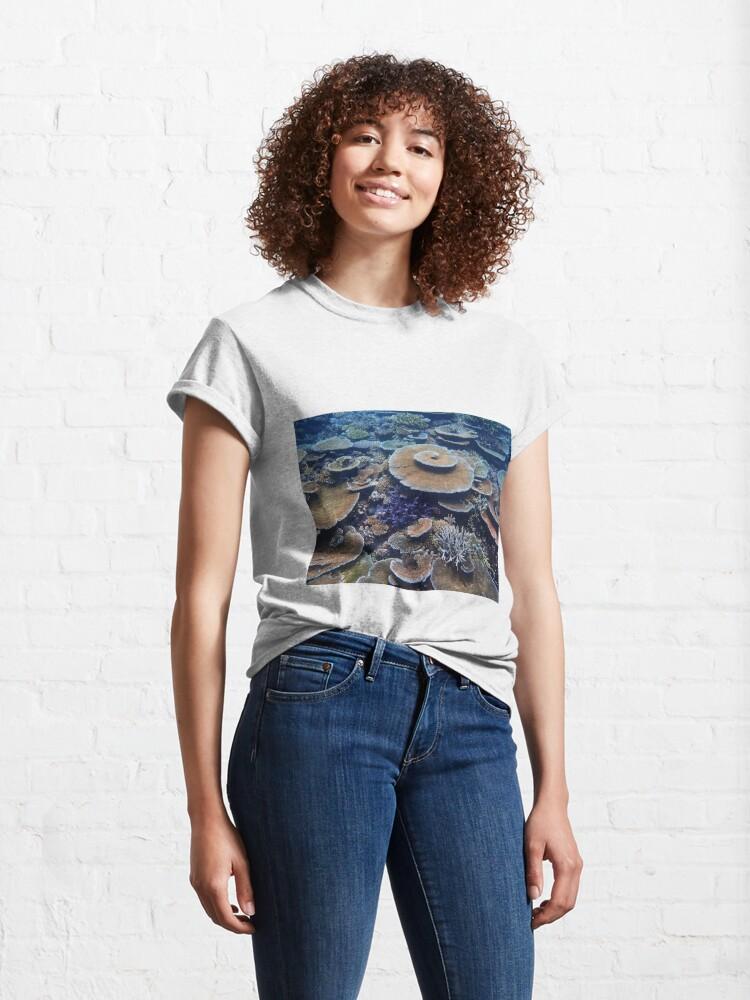 Alternate view of Bandjin Reefs III Classic T-Shirt