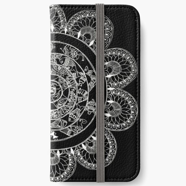 created to bloom iPhone Wallet