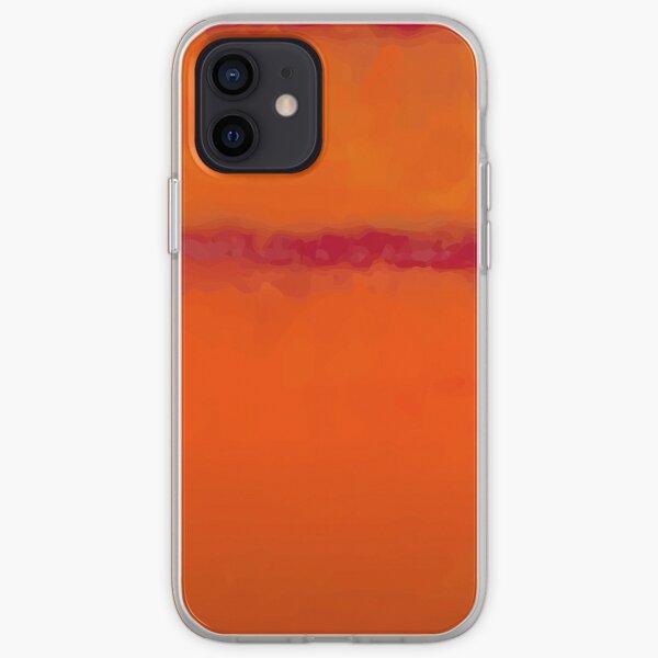 mark rothko naranja Funda blanda para iPhone