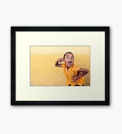 His True Colors Framed Print