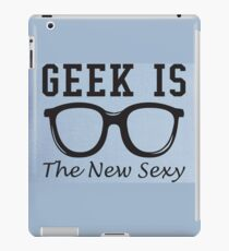 Geek is The New Sexy Glasses iPad Case/Skin
