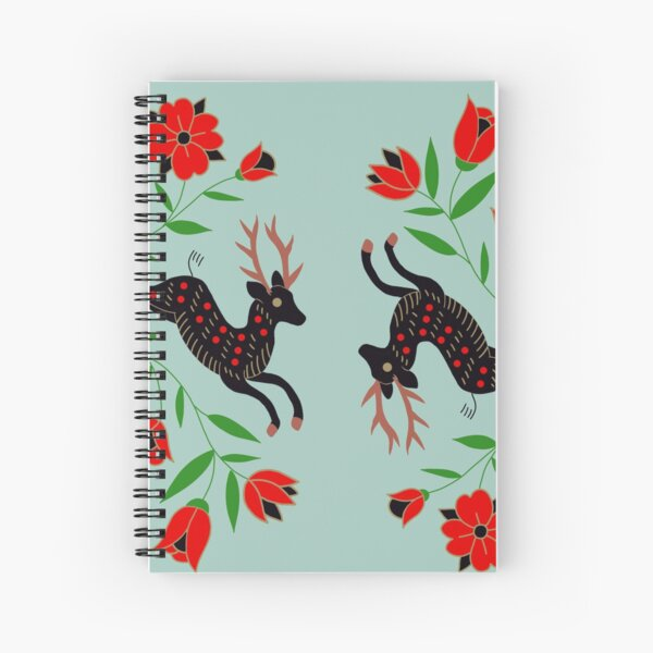 Holiday Deer  Spiral Notebook