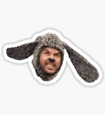 Wilfred face Sticker