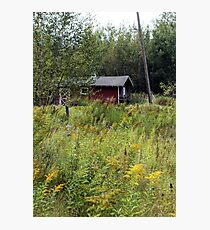 Rustic Red Barn Photographic Print