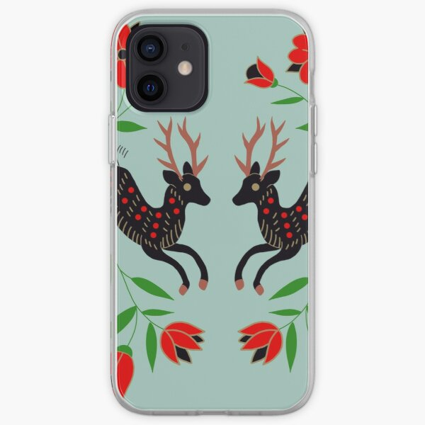 Holiday Deer  iPhone Soft Case