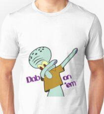 Dabbing Squidward Unisex T-Shirt