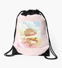 I Believe I Can Fly Drawstring Bag
