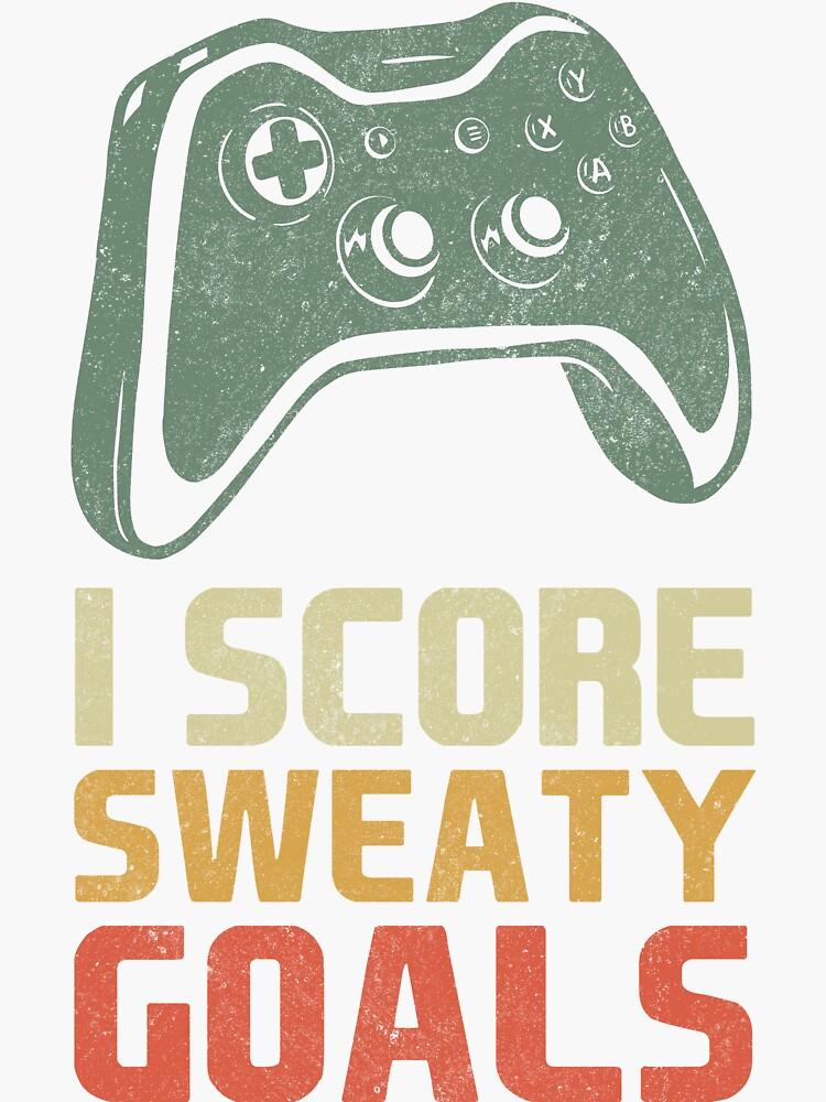 """FIFA 21 I Score Sweaty Goals Typical Gamer White Vintage ..."