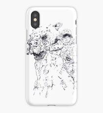 Luke on Hoth art iPhone Case