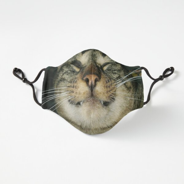 Grinning cat photo Fitted 3-Layer