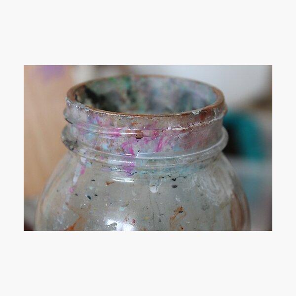 the art jar Photographic Print