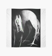 Hellhound ! Or just a tall dog monster friend Scarf