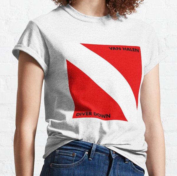 diver down red halens art Classic T-Shirt