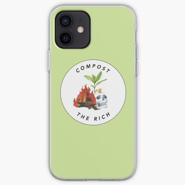 Compost the Rich iPhone Soft Case
