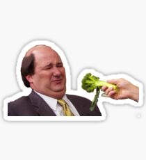 The Office Kevin Doesn't Like Broccoli Sticker