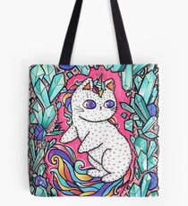 Unicorn  kitty Tote Bag
